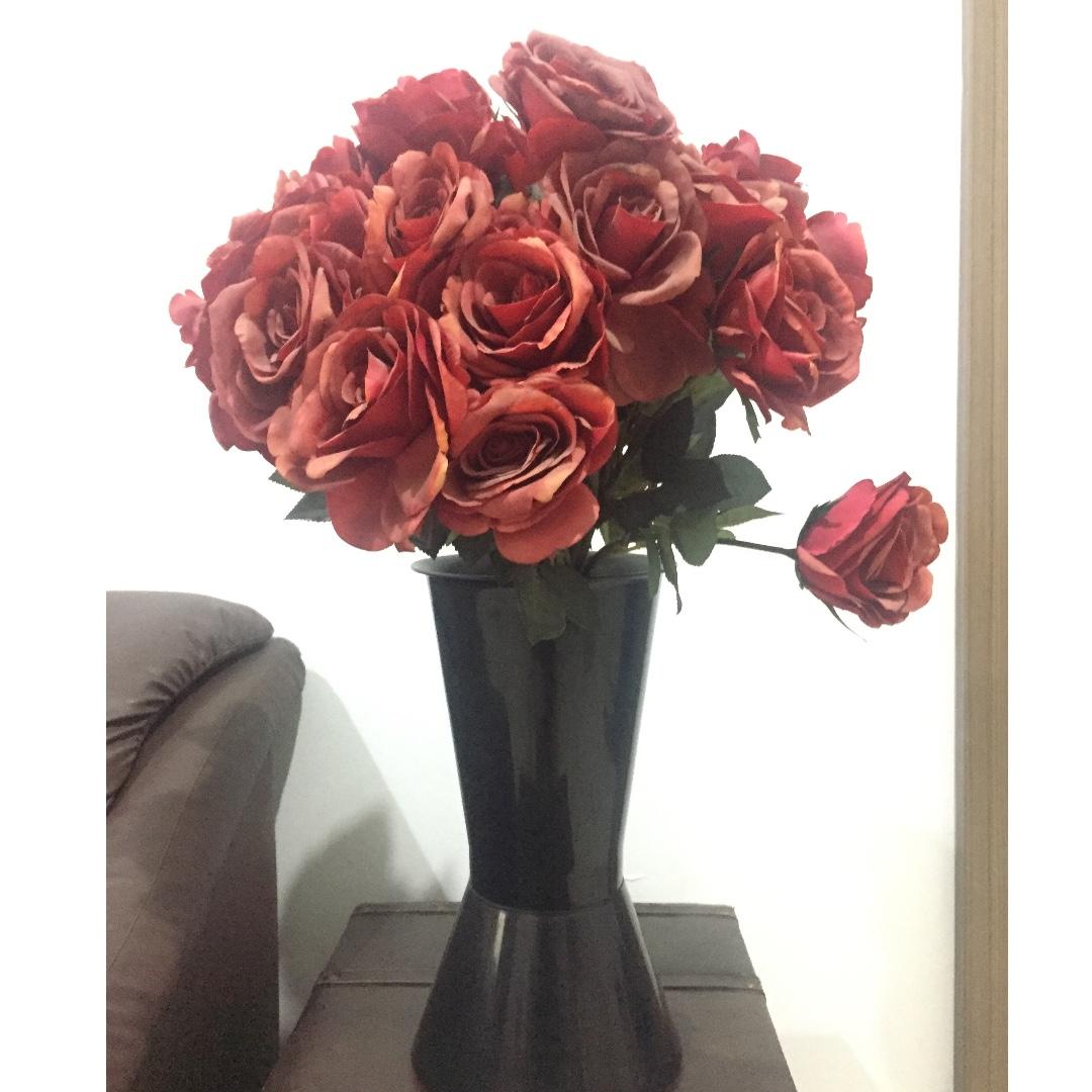 Bunga Mawar Sintetis