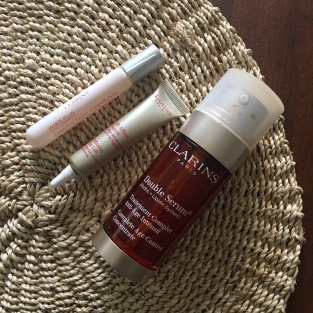 Clarins Double Serum Age Concentrate Bundle