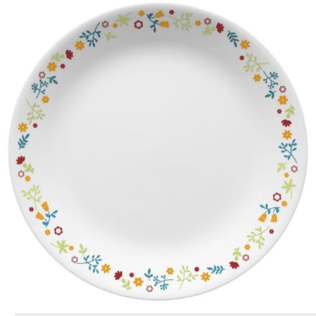 "SALE! Corelle Febe Plate 10.25"" New Design 6pcs"