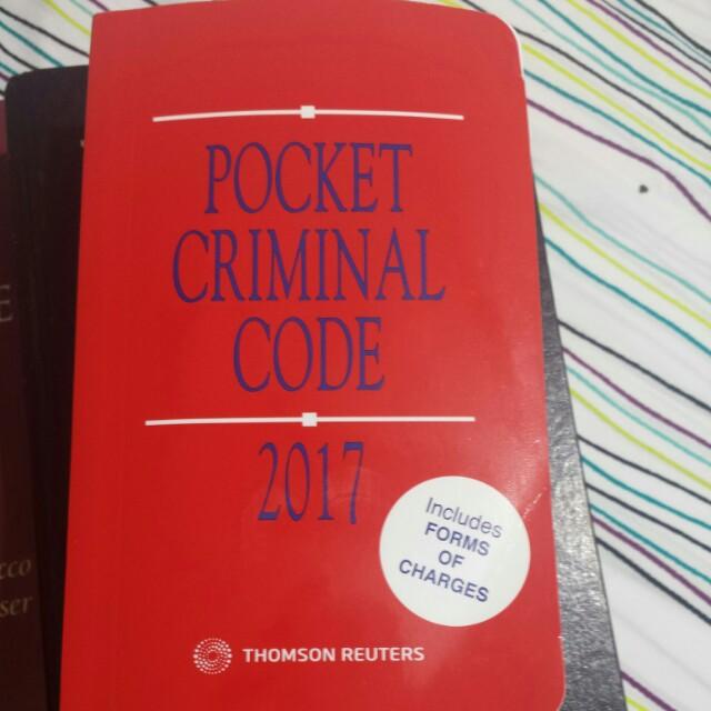 Criminal code of canada 2017