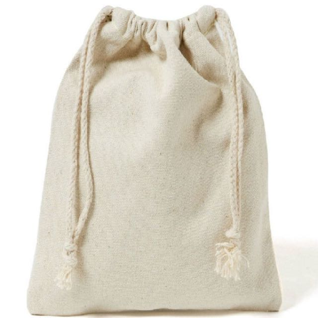 Customised drawstring pouch