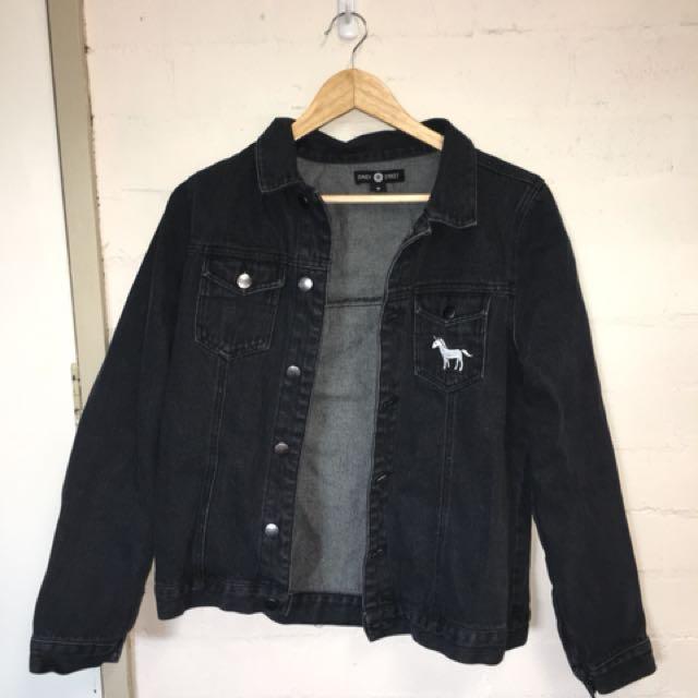 Daisy Street Black Denim Jacket