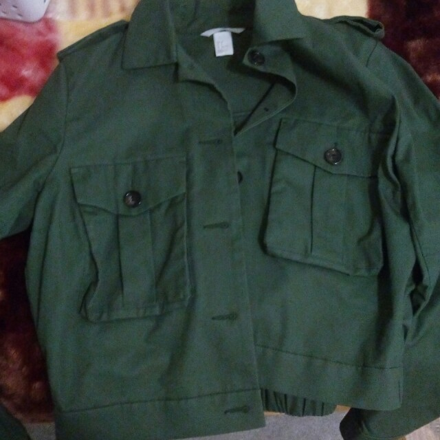Dark green jacket-Reduced