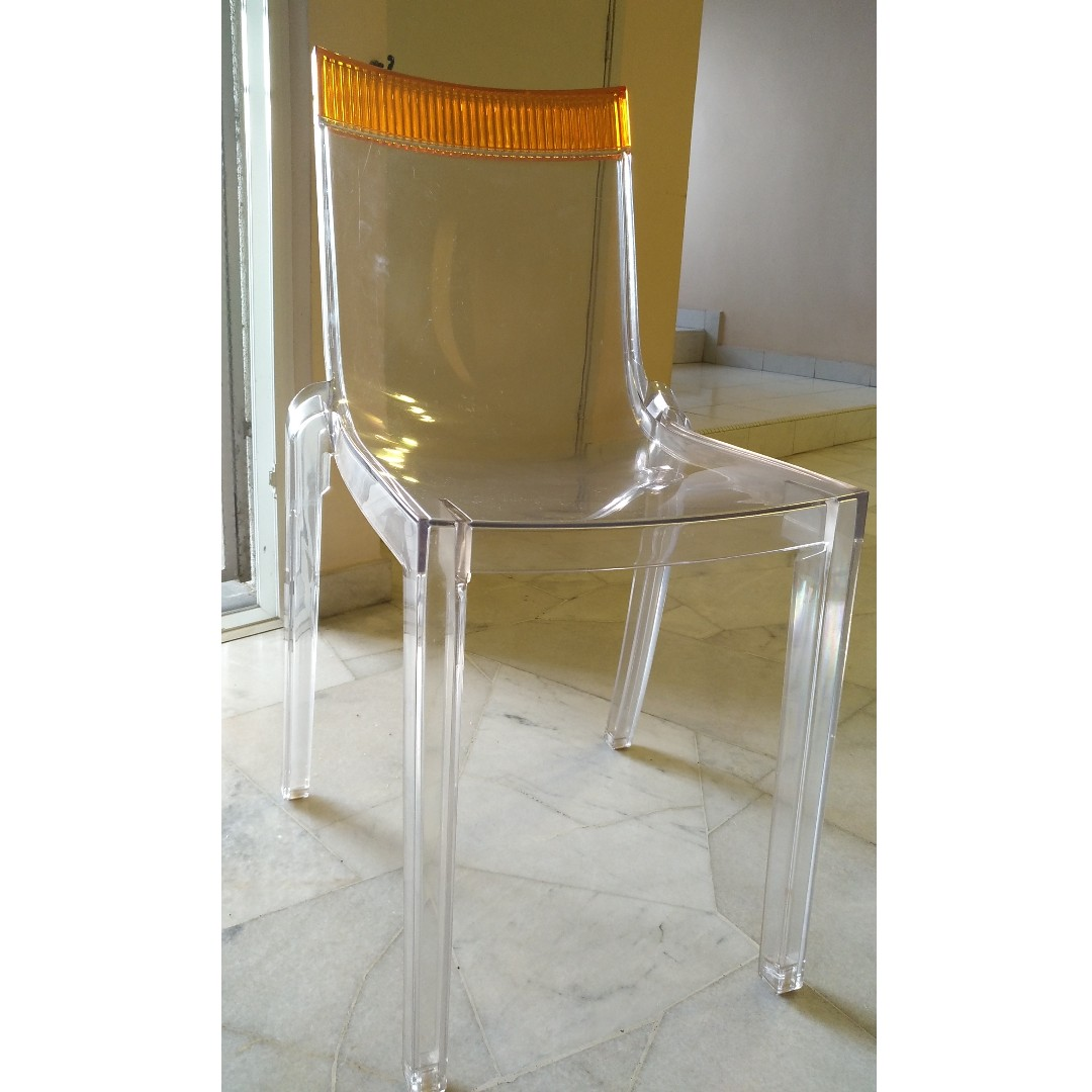 Designed by Philippe Starck for Kartell. The La Marie Chair