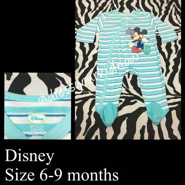 Disney Mickey Mouse Overall (USED ONCE)