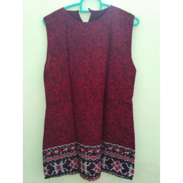 Dress batik + outer