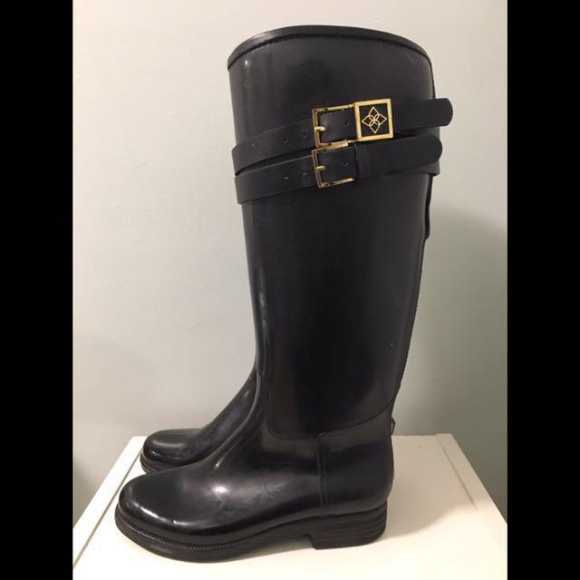 Däv Bristol navy rain boots