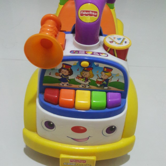 fisher price ride on car babies kids toys walkers on. Black Bedroom Furniture Sets. Home Design Ideas