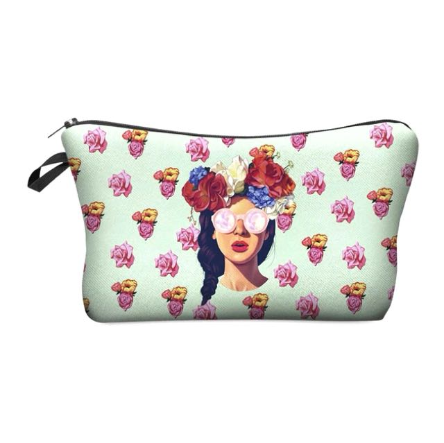 Flower Girl Beauty Pouch