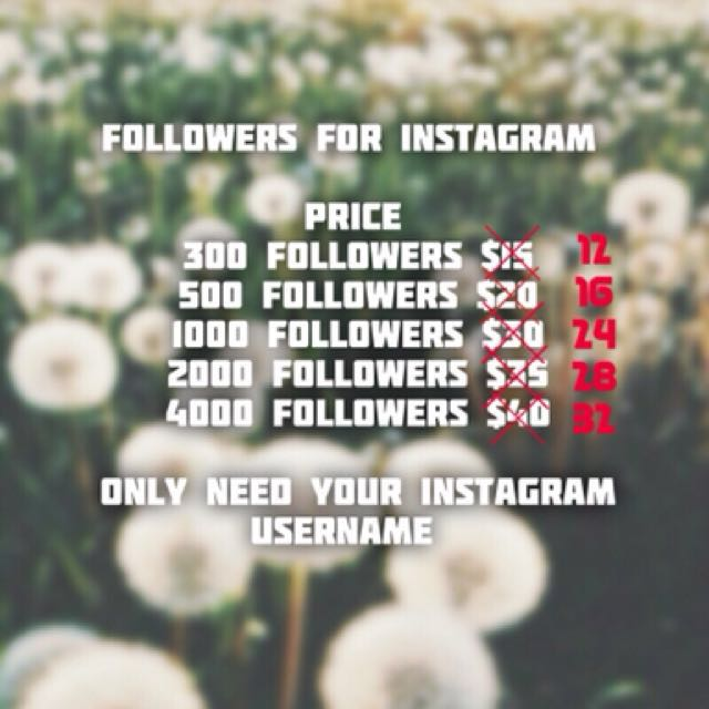 Followers 😍