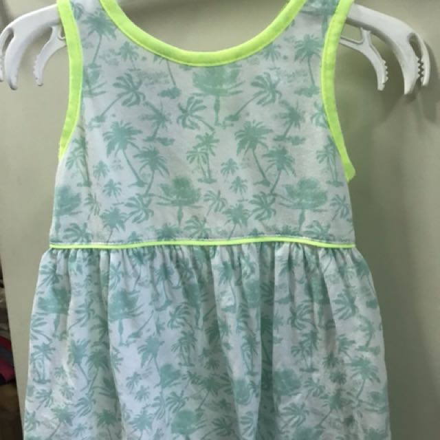 Gingersnaps Floral Dress (6mos)