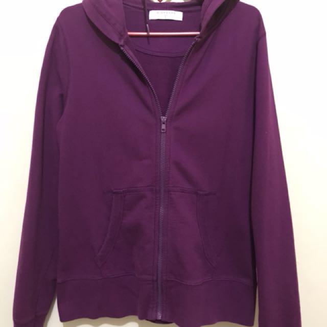 GIORDANO Women Jacket Purple