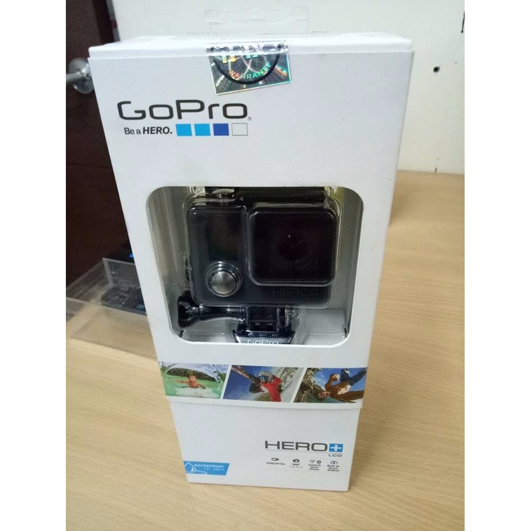GoPro HERO+ LCD 8MP Action Camera