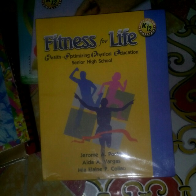 Grade 11 Fitness for Life Textbooks