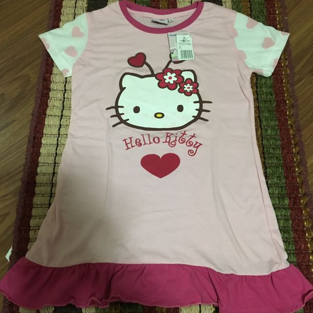 Hello kitty dress sleep wear size large
