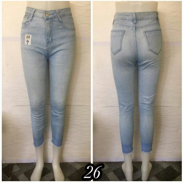 HIGHWAIST SOFT DENIM PANTS