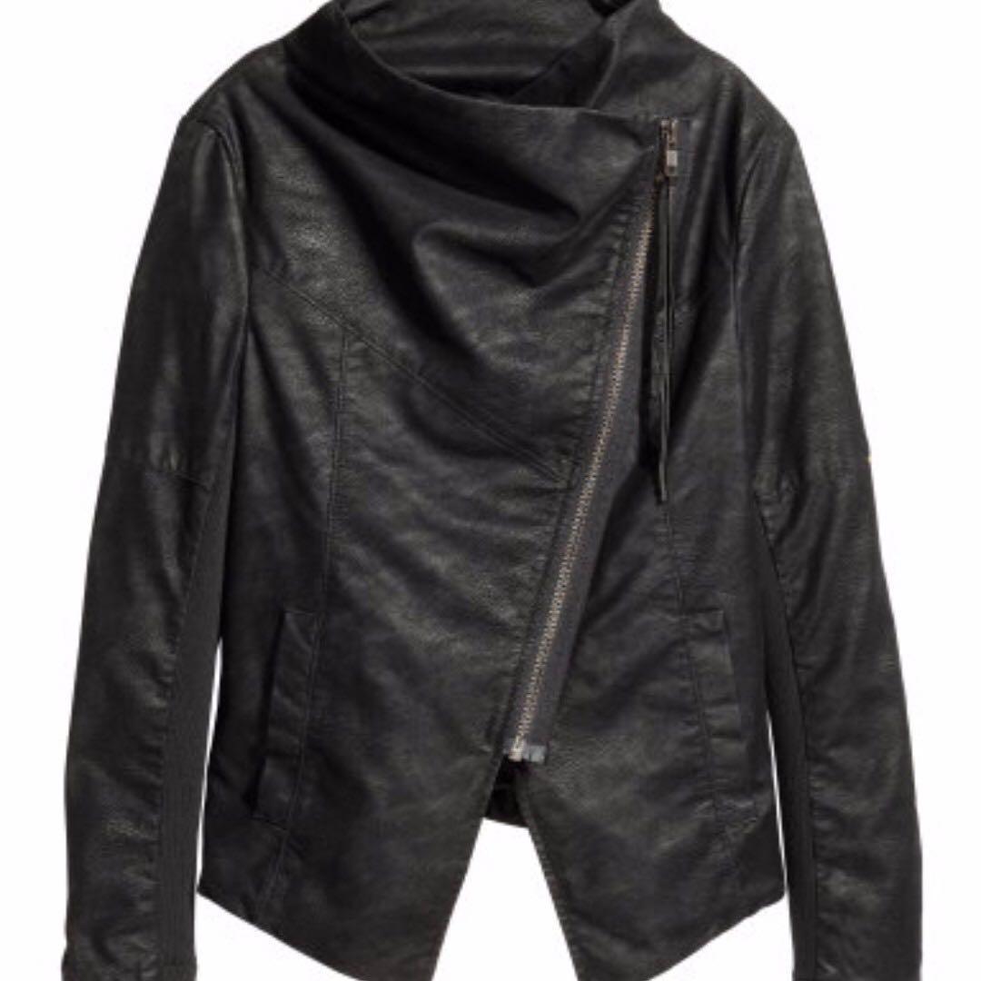 H&M Assymetrical Jacket Size 6
