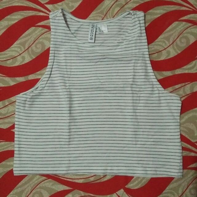 Repriced! H&M Cropped Top