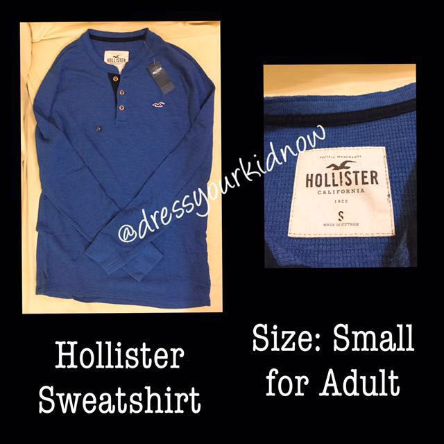 Hollister Sweatshirt Brand New