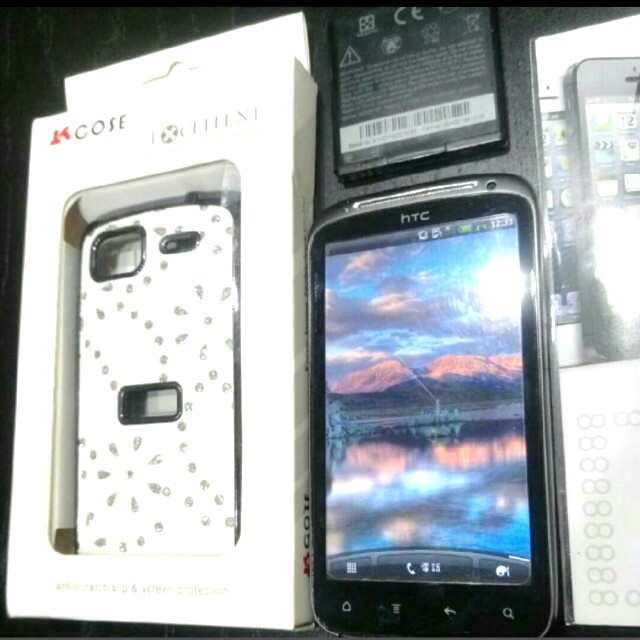 HTC sensation black