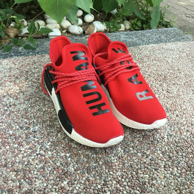 promo code 2327f 9652c Human Race Red Shoes