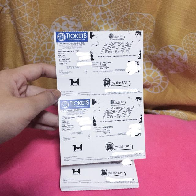 Hydro Manila presents Neon tickets