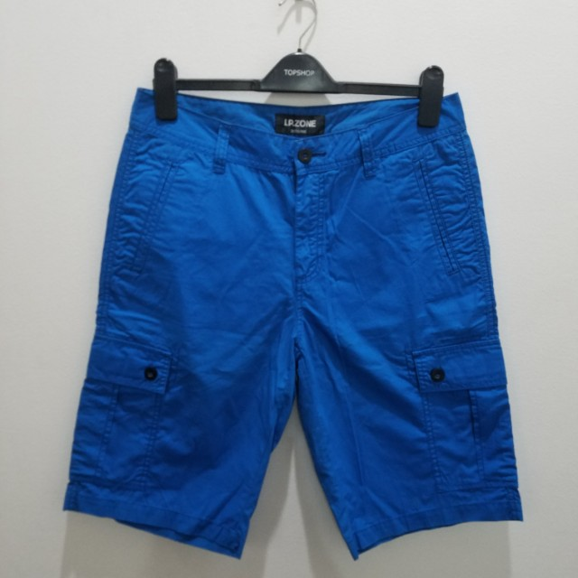 IP ZONE Blue Shorts - Size 31