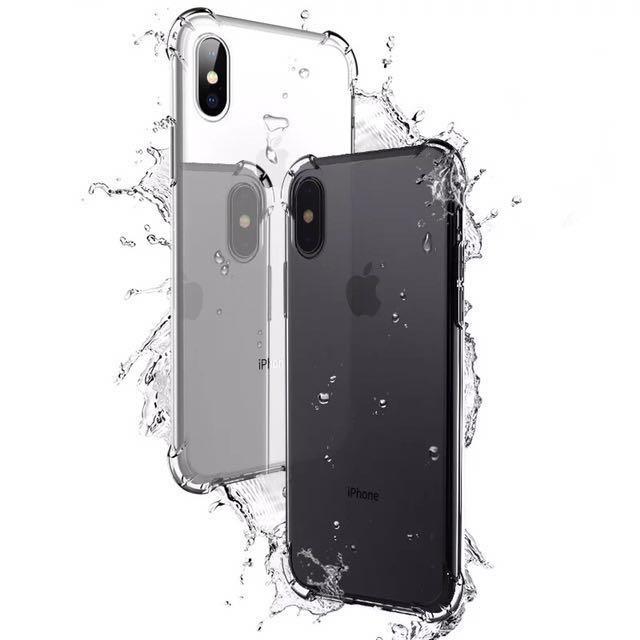 Iphone X 四角加厚防摔空壓殼
