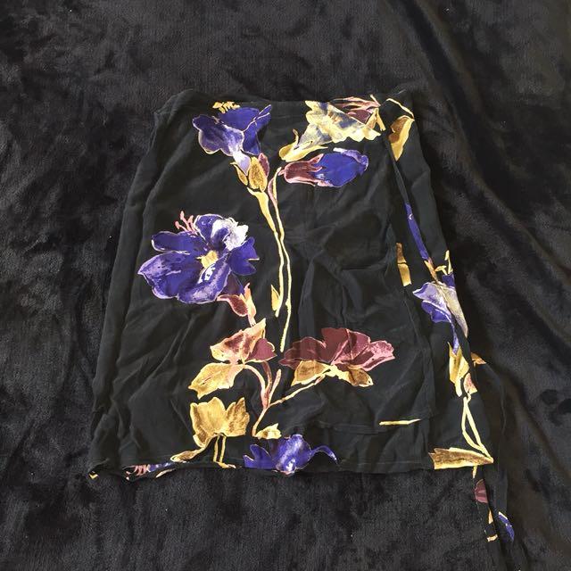 Ishka wrap skirt