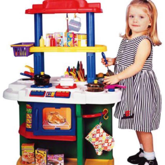 Just Like Home Kids Kitchen Set Babies Kids Toys Walkers On