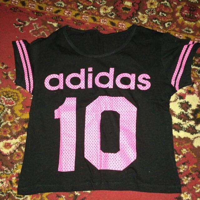 Kaos Crop Adidas