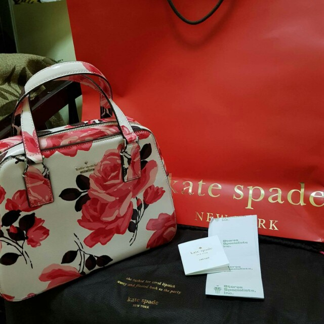 KATE SPADE Rambling Roses Collection Medium (March 2017 collection)