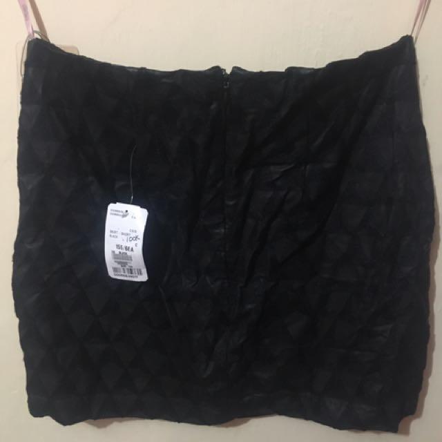 Leather Short Skirt #moveonyuk