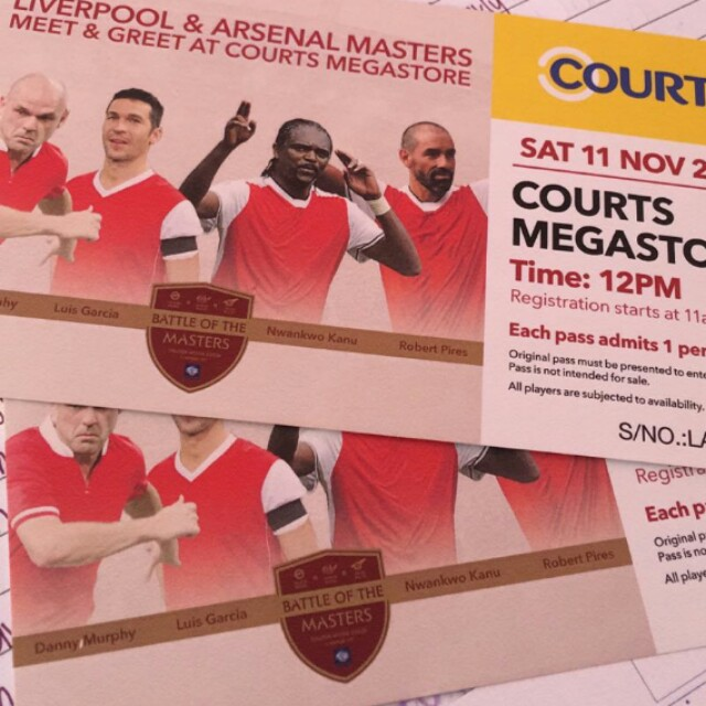 Liverpool arsenal masters meet and greet entertainment events photo photo photo m4hsunfo