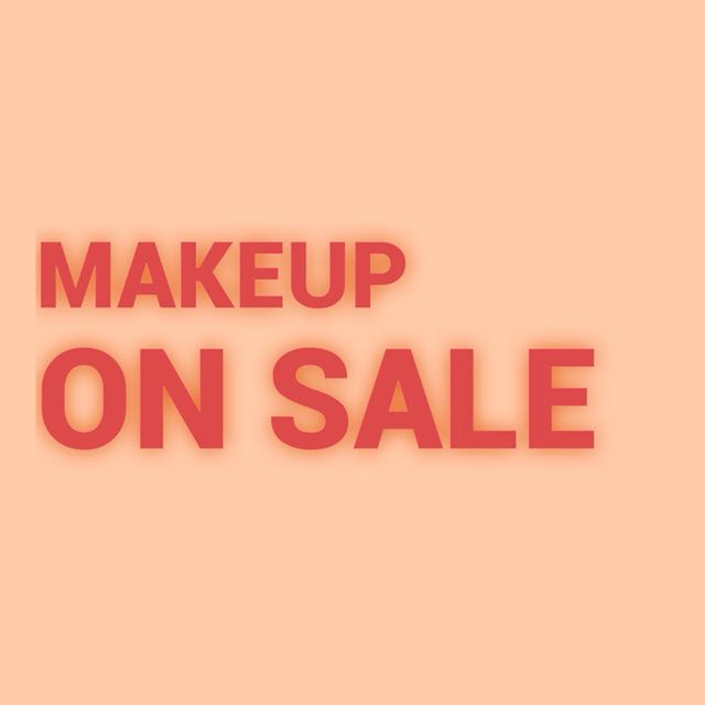 Makeup ON SALE