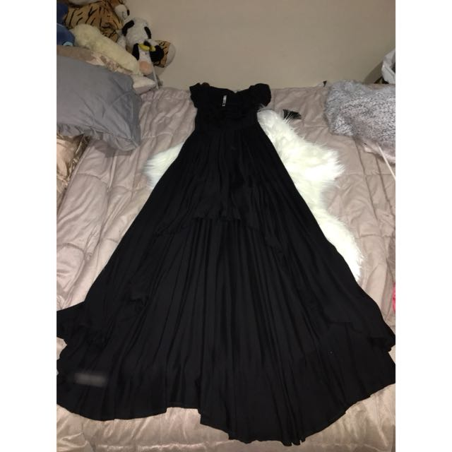 Maxi Black Dress Size 6