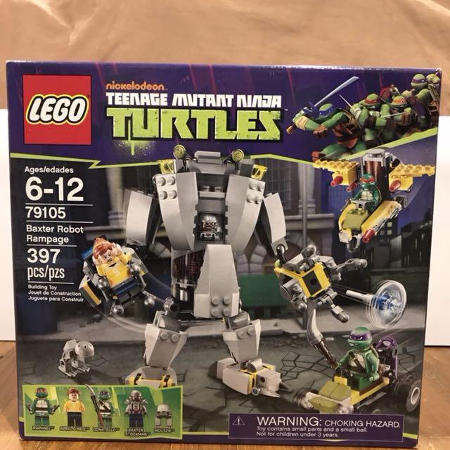 Mib Lego 79105 Baxter Robot Rampage Toys Games Bricks