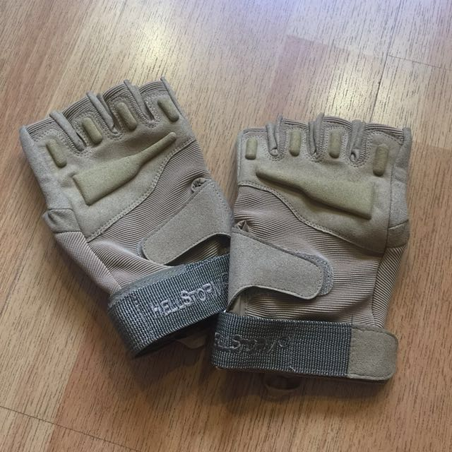 Military Tactical Hellstorm Gloves Size M