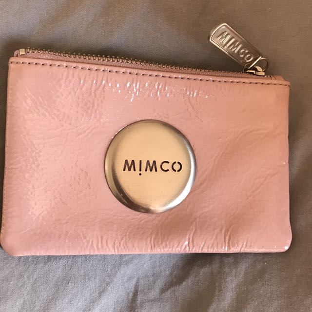 Mimco Pouch purse pink