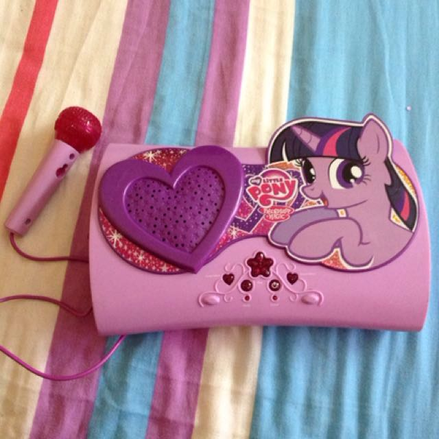 My Little Pony - Carry & Sing Along Box