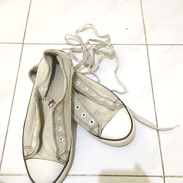 new look white shoes sneakers