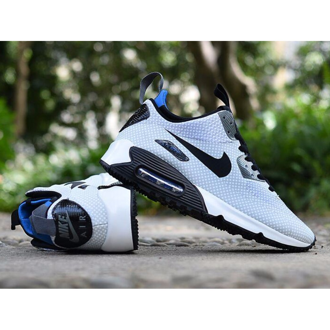 nike air max 90 mid winter night argent