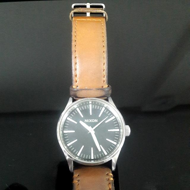 [NIXON] Brown Stainless Watches