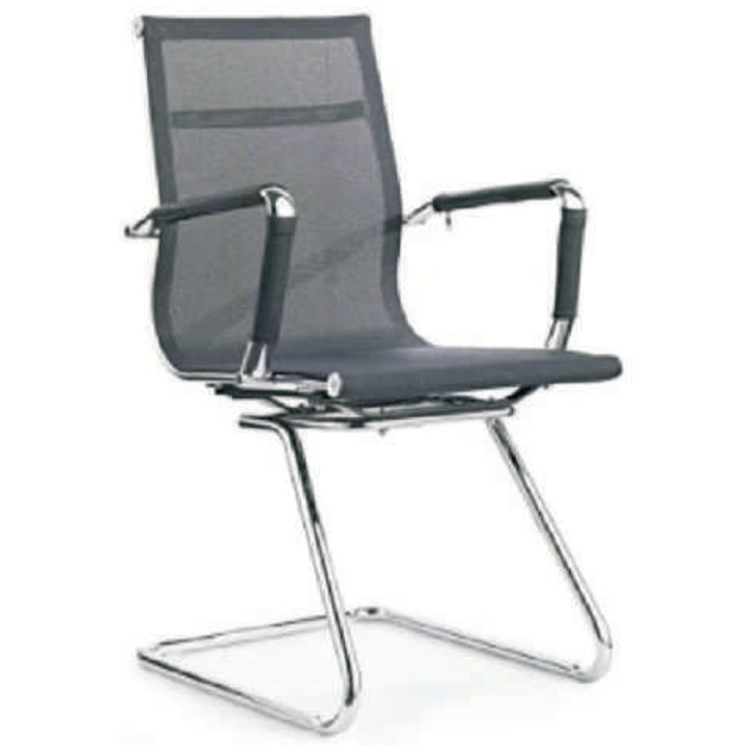 office furniture - mesh visitors chair