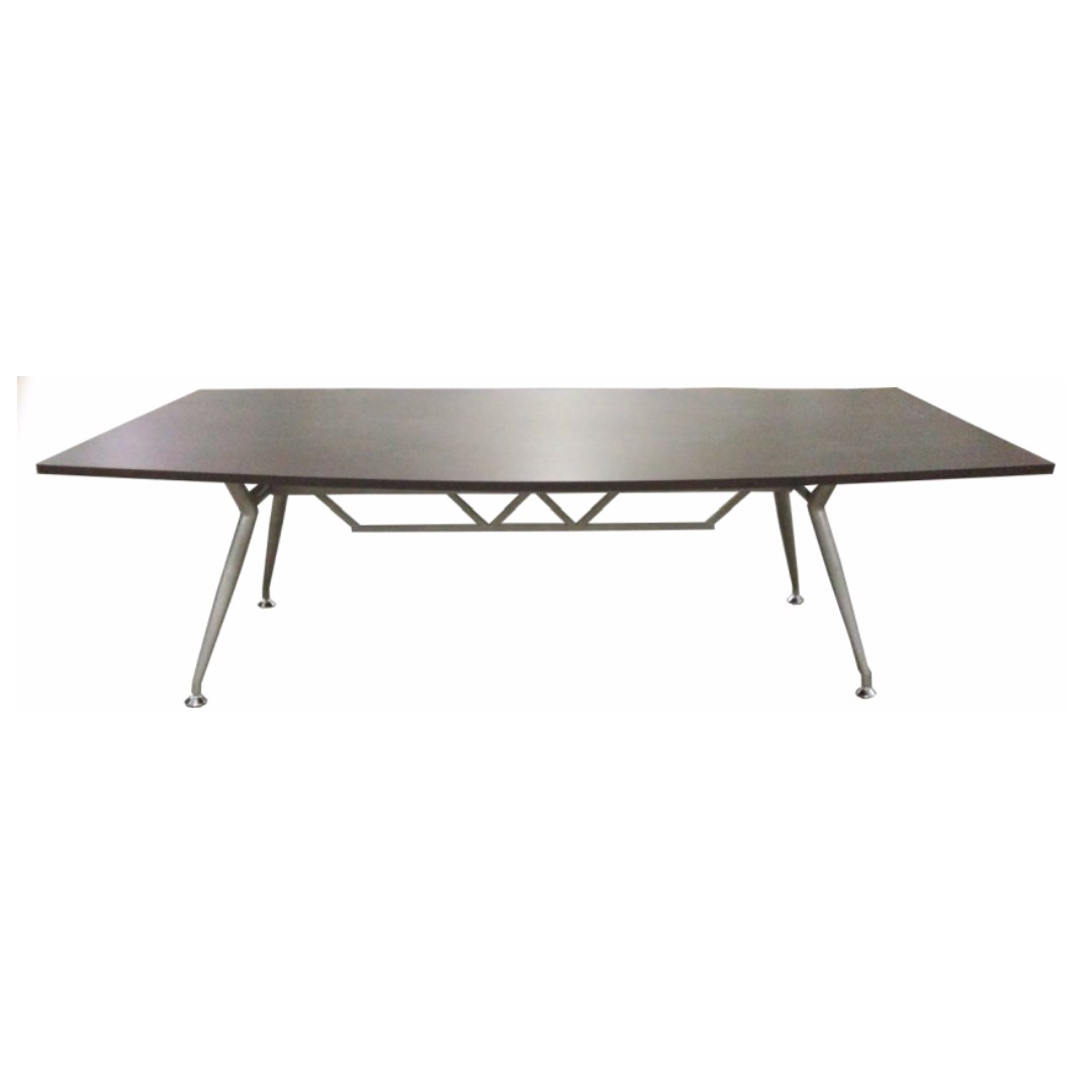 office furniture - rectangular curved conference table