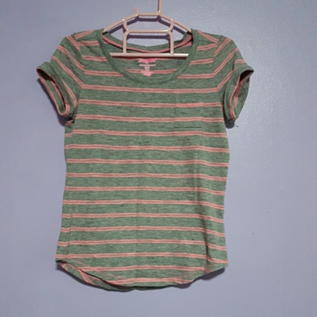 Old Navy gray striped shirt for kids