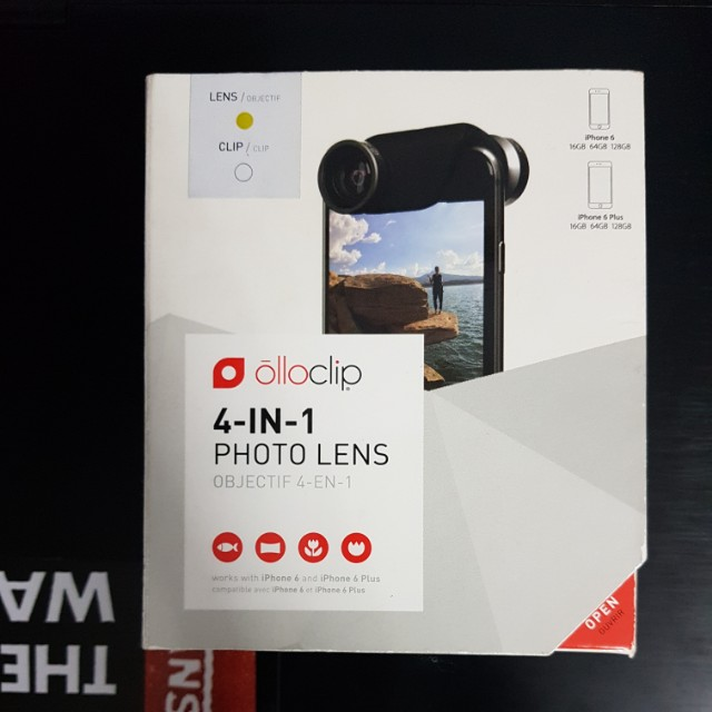 olloclip 4-in-1 Photo Lens for iPhone 6 and 6+