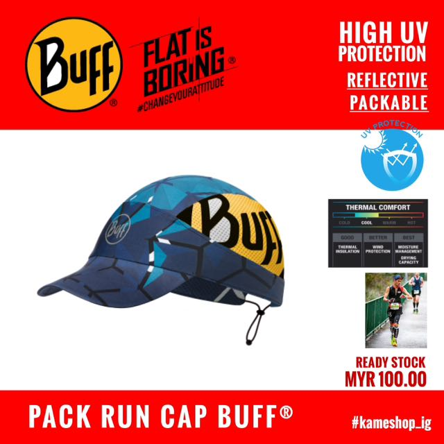 46d50cca PACK RUN CAP BUFF (HIGH UV), Sports, Athletic & Sports Clothing on Carousell
