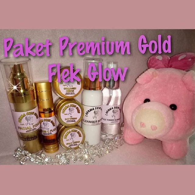 Paket Premium Gold Flek Glow