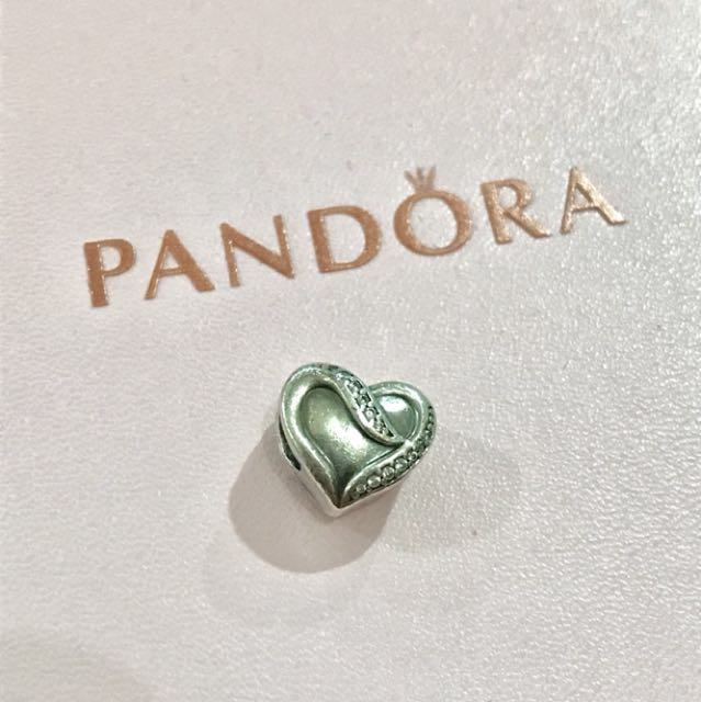 Pandora ribbon of love charm